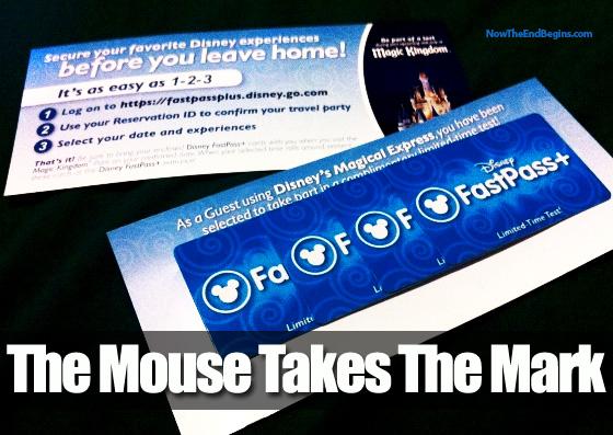Walt Disney Fast Past Next Generation Microchip RFID Tracking
